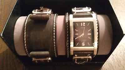 GUESS Herren Armbanduhr mit Wechselarmband, schwarz/braun, Modell:75540G1 online kaufen