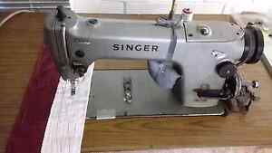 Industrial sewing machine. SINGER PLAIN SEWING MACHINE Crestmead Logan Area Preview