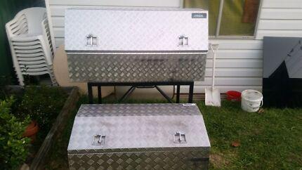 Aluminium toolbox's North Parramatta Parramatta Area Preview
