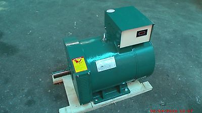 7.5kw St Generator Head 1 Phase For Diesel Or Gas Engine 5060hz-120240 Volts