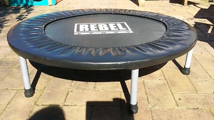 Rebel sport mini trampoline excercise cardio workout
