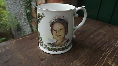 Caverswall 1980 Queen Mother 80th Birthday Mug Super Portrait