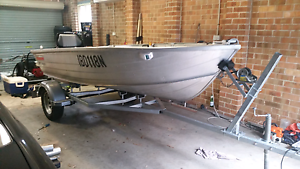 2005 Stacer 370 seasprite 12ft tinny Kellyville The Hills District Preview