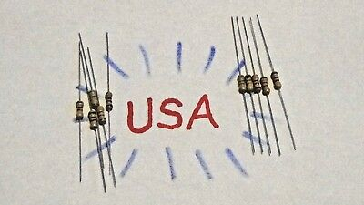 1.8k Ohm Resistor - Carbon Film - 10pcs - 14 Watt - 5 - 1k8 - Ships Today