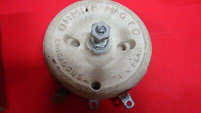 Ohmite 150 Watt 1250 Ohm Rheostat Rls1k25