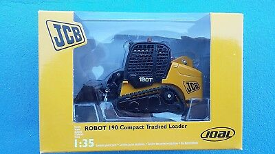 JOAL 145 6 JCB MINI CHARGEUR ROBOT 190 COMPACT TRACKED LOADER CHENILLES 1:35