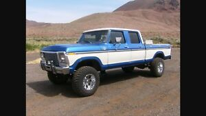 Swap trade 2014 Toyota Tundra for a 73-79 Ford crew cab 4x4