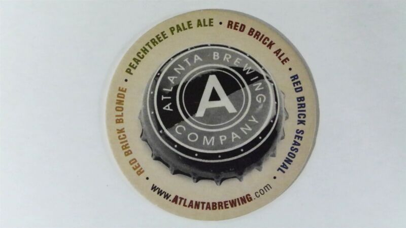 Atlanta Brewing Company Beer Coaster