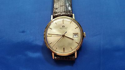 Vintage Bucherer 21 jewels Automatic 18K Solid Gold Men's Watch