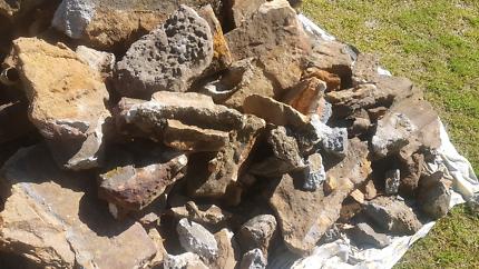 Natural Sandstone Bush Rocks for any 6 pack beers