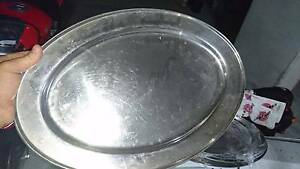 Large stainless serving platters South Coogee Eastern Suburbs Preview