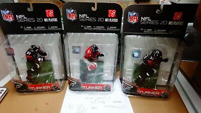 MICHAEL TURNER NFL20 ATLANTA FALCONS MCFARLANE FIGURE 3PCS Michael Turner Nfl