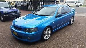 2003 Ford Falcon XR8 BA 5.4L V8 Cylinder Sedan - MANUAL Waratah Newcastle Area Preview