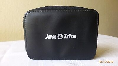 Vintage Just a Trim Travel Kit Personnel Grooming Accessories Set 8 Piece Case