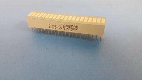20-Segments LED BARGRAPH Array for VU METER Driver Arduino Bar Graph, 5 Pcs
