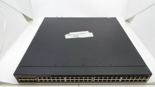 Brocade ICX6610-48P-PE POE Switch ACTIVE PREMIUM LICENSE 2x PSU REV A 2x Fan C3