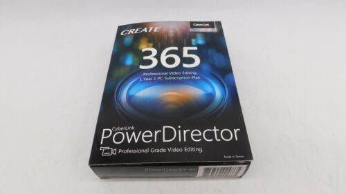 Cyberlink PowerDirector 365 - Professional Grade Video EdiTOR