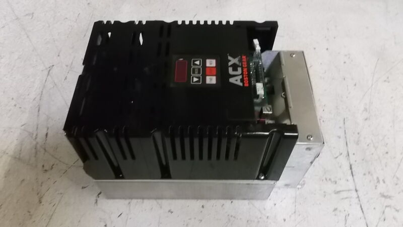 BOSTON GEAR ACX2075 AC DRIVE (AS PICTURED) * USED *