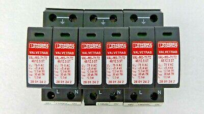 Phoenix Contact Lightningsurge Arrester Vallvetrab 28 01 24 2 Val-mst1t2 4812