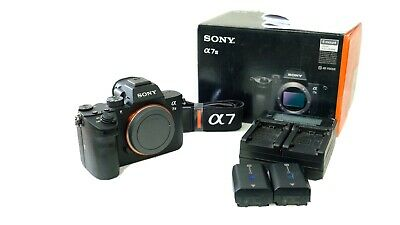 MINT Sony a7 III 24.2MP Mirrorless Digital Camera SUPER LOW SHUTTER COUNT: 868