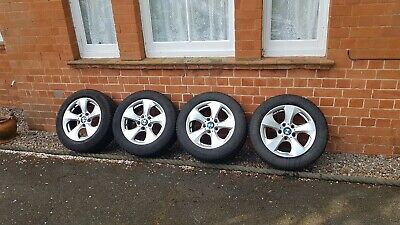 Genuine BMW F30 F31 E90 3 4 Series Alloy Wheels Winter Tyres TPMS Continental