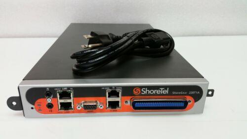 ShoreTel SG-220T1A ShoreGear 220T1A Voice Switch Module 600-1057
