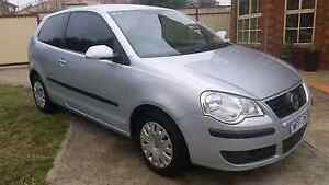 Volkswagen silver Polo club hatch 9N build 09/2007, 1.4L 4cyl Ei Roxburgh Park Hume Area Preview