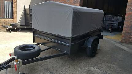 canvas cover and cage 8x5 hi side 12 months priv rego $2200 ready