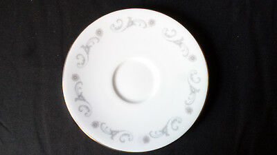 Royal Worcester. Bridal Lace. Demitasse Cup Saucer. Made In England. 1963. - Bridal Lace Saucer