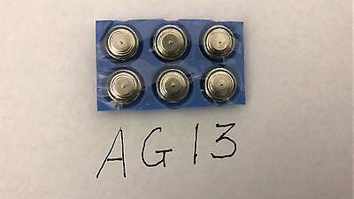 6X Ag13 Sr44 Lr44 A76 376 1 5V Alkaline Button Cell Batteries Watch Calculator