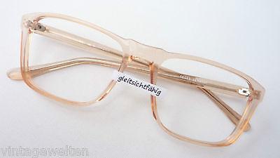 Fieges Fassung Kunststoff groß eckig Männer Gestell Brille frame leicht Grösse L