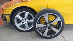 Holden Monaro CV8 VZ SS Thunder wheels swap VT HSV GTS Clubsport Mount Evelyn Yarra Ranges Preview