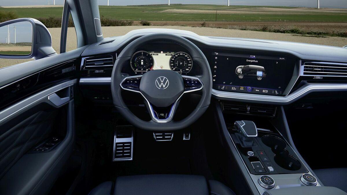 2020 Volkswagen Touareg Exterior and Interior