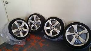 """Mercedes 2011 C180 Coupe 18"""" wheel & tyre package Cleveland Redland Area Preview"""