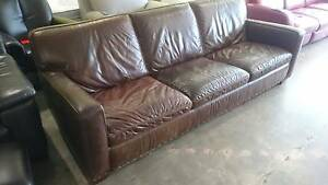 TOO MUCH LEATHER - LEATHER SOFA SALE! Richmond Yarra Area Preview