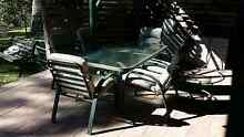 7 piece outdoor set, table and chairs Berowra Heights Hornsby Area Preview