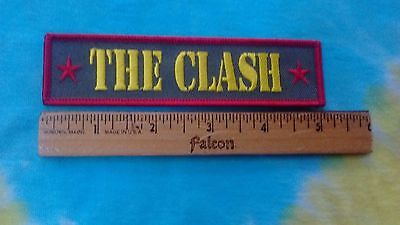 The Clash Army Logo 5 Inch Patch