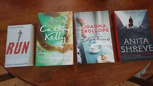 4 Fiction books