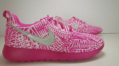 SCARPE N 36 UK 3.5 NIKE ROSHE ONE PRINT (GS) SNEAKERS BASSE ART 677784 100