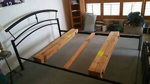 Queen Size Black Metal Bed Frame Hornsby Heights Hornsby Area Preview