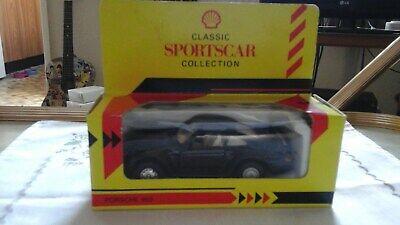 BOXED SHELL CLASSIC SPORTSCAR COLLECTION BLACK PORSCHE 959 MODEL CAR