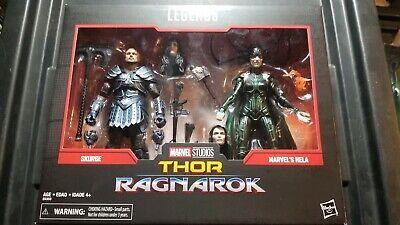 Marvel Legends 80th Anniversary Thor Ragnarok Skurge & Hela 2-Pack New In Stock!