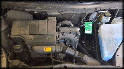 Motor für Mercedes A140 A Klasse W168 M166.940 166940 komplett vor OBD2