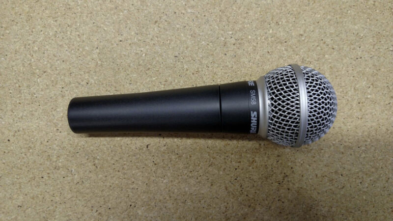 Shure SM58 Professional Mic Microphone (used)
