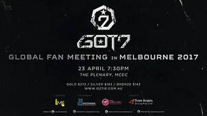 WANTED GOT7 MEL FANMEETING GOLD TICKET Bellevue Heights Mitcham Area Preview