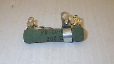 Clarostat Pr-10-fa Resistor Adjustable 200 Ohms Nnb