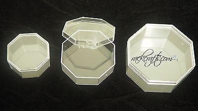 Plastic Clear Octagon Box Party Favor Candy Gift Craft Souvenir Wedding Bridal - Clear Wedding Favor Boxes