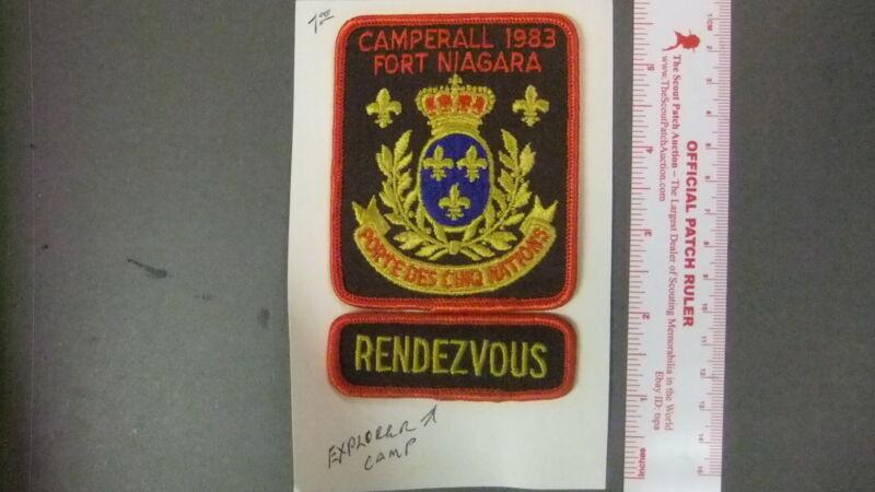 Boy Scout Fort Niagara Explorer Camp 5705II