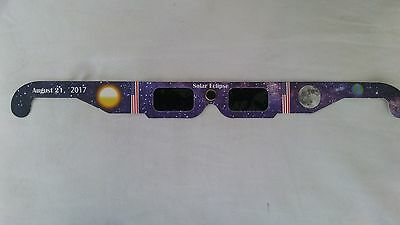 100  Athentic Solar Eclipse Glasses Set Of  4  Iso 12312 2