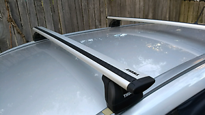 Thule Wingbar roof racks Wollstonecraft North Sydney Area Preview